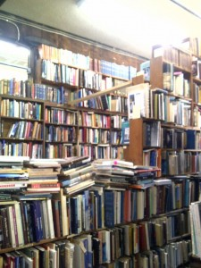 Shelves just stacked with books!